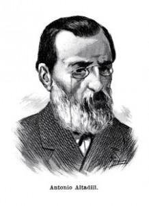 """Antoni Altadill Teixidó (1828-1880) autor de """"Barcelona y sus misterios""""."""