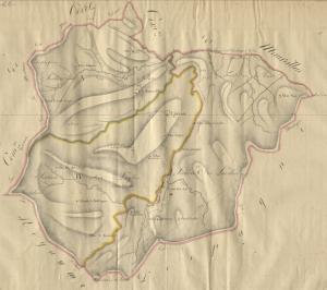 Antic terme de Les Illes. Cadastre napoleònic. 1812. Arxives départementals des Pyrénées Orientales