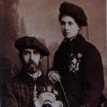 Alfonso Carlos de Borbón y María de las Nieves de Braganza