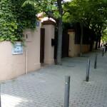Passatge de Fontanelles, prop de la Via Augusta de Barcelona,en la propietat que fou del Marquès de Casa Fontanelles
