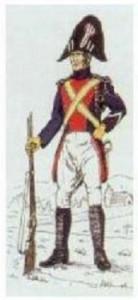 gendarme, a mediados del XIX