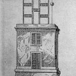 Plànol d'una torre de telegrafia òptica d'ús militar.