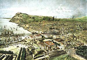 Barcelona 1850