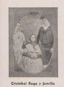 Cristobal Raga i familia