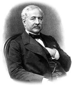 Ferdinand Lesseps, cònsol francès a Barcelona.