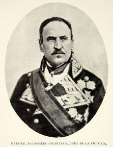 Baldomero Espartero.