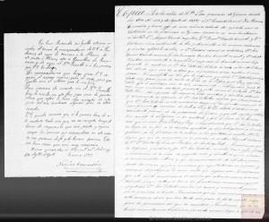 Acta/informe emès pel tinent coronel Narcís Comadira sobre el consell de guerra contra l'Estartús (9.08.1872). Archivos Estatales mecd.es