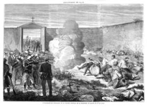 Afusellament de presoners de la batalla de la serra de Toix, a Llers, ordenat per Savalls.