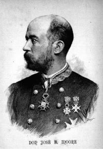 El general J.B.Moore