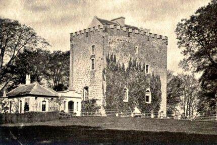 Castell dels KircpatricK de Clousebourn a Escòcia