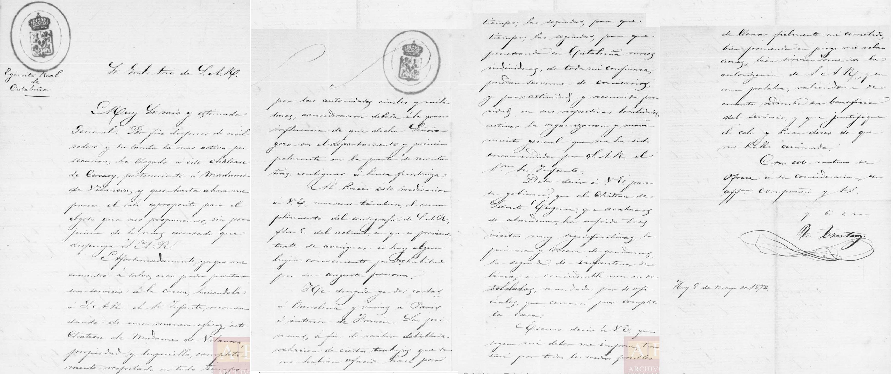 Archivo Carlista. Sección Diversos A.H.N. Ministerio de Cultura. ESPAÑA